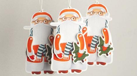 Сувенирная тема. Дед Мороз от Экстры.